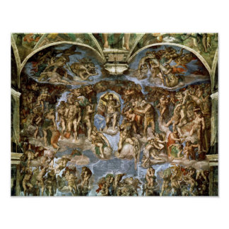Sistine Chapel: The Last Judgement, 1538-41 Poster