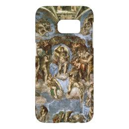 Sistine Chapel: The Last Judgement, 1538-41 Samsung Galaxy S7 Case