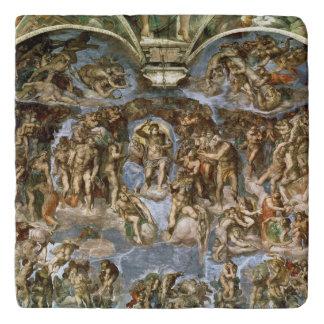 Sistine Chapel: The Last Judgement, 1538-41 Trivet