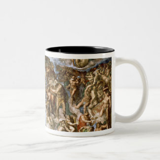 Sistine Chapel: The Last Judgement, 1538-41 Two-Tone Coffee Mug