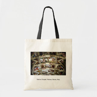Sistine Chapel, Vatican, Rome, Italy Budget Tote Bag