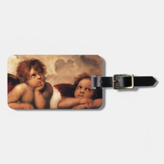 Sistine Madonna 2 Angels by Raphael Bag Tag