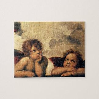 Sistine Madonna Angels by Raphael Renaissance Art Puzzles