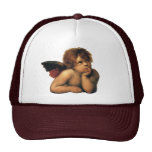 Sistine Madonna Angels by Raphael Sanzio Trucker Hats