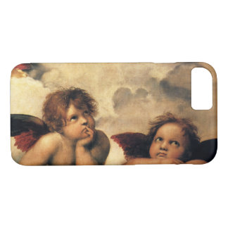 Sistine Madonna, Angels detail by Raphael iPhone 8/7 Case