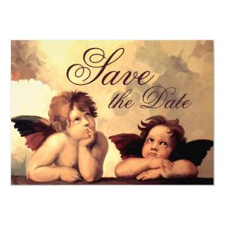 Sistine Madonna Cherubs Raffaelo Sanzio Invitation