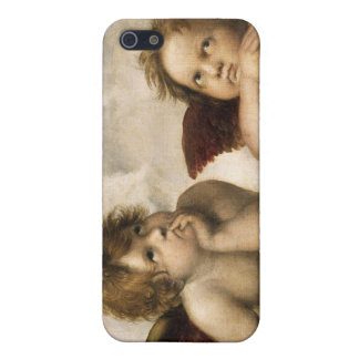 Sistine Madonna Detail, Raphael iPhone SE/5/5s Case