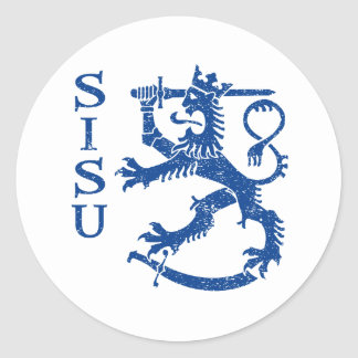 SISU CLASSIC ROUND STICKER