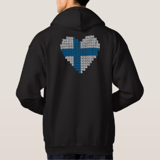 Sisu Heart Back Hooded Sweatshirt