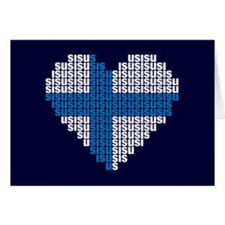Sisu Heart Folding Card