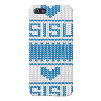 Sisu Heart Knit iPhone4 Case