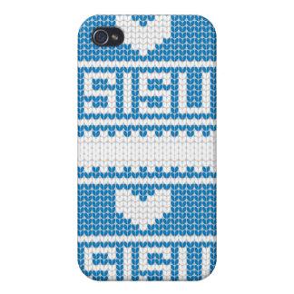 Sisu Heart Knit iPhone4 Case 2
