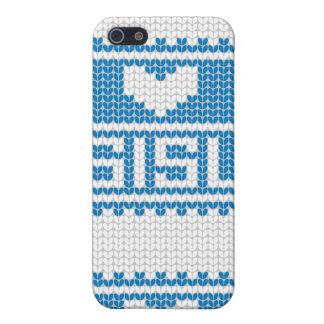 Sisu Heart Knit iPhone4 Case 4