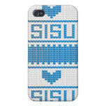 Sisu Heart Knit iPhone4 Case iPhone 4/4S Cases
