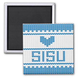Sisu Heart Knit Magnet 1