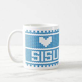 Sisu Heart Knit Mug 2
