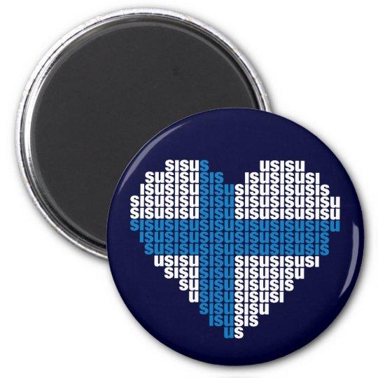 Sisu Heart Magnet