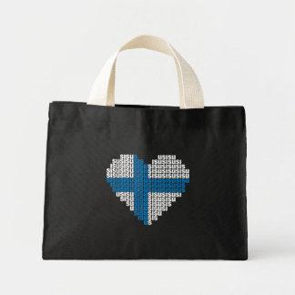 Sisu Heart Tiny Tote Bag