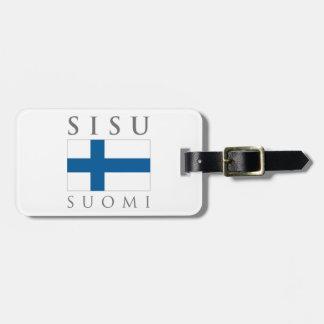 Sisu Suomi Bag Tag