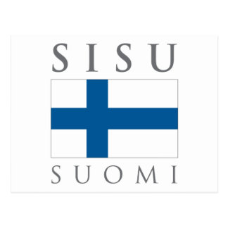 Sisu Suomi Postcard