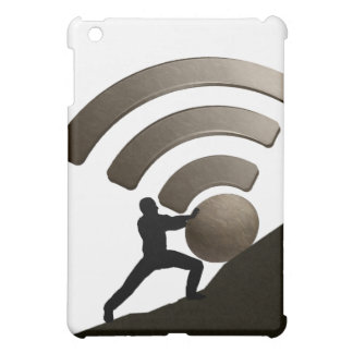 Sisyphus fixing the wireless in Hell! iPad Mini Case