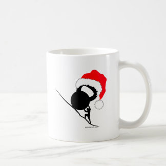 Sisyphus Kettlebell Merry Christmas Classic White Coffee Mug