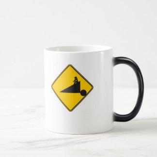 sisyphus 11 oz magic heat Color-Changing coffee mug