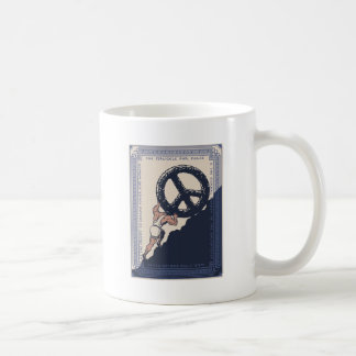 Sisyphus Peace Classic White Coffee Mug