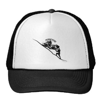Sisyphus_Persevere_Running Trucker Hat
