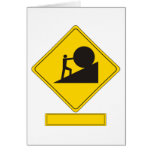Sisyphus Road Sign Cards