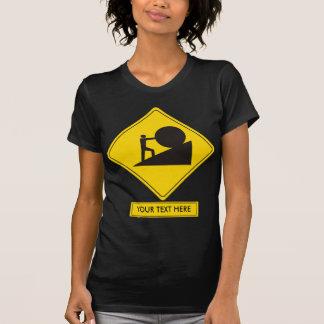 Sisyphus Road Sign T-shirt