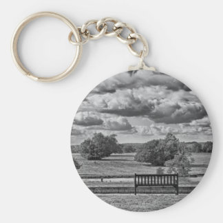 Sit a While Keychain