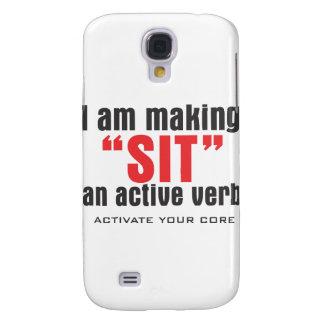 SIT ACTIVE VERB GALAXY S4 CASE