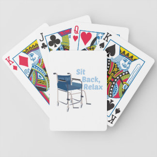 Sit Back Bicycle Playing Cards