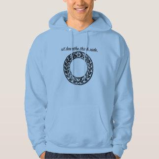 Sit.breathe.think.ride. logo hoodie