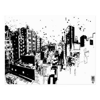 """SIT """"Cityscape"""" Postcard"""