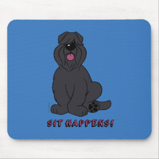 Sit happens mouse pad