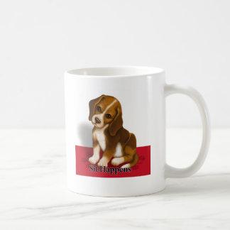 Sit Happens Mugs