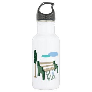 Sit & Relax 18oz Water Bottle