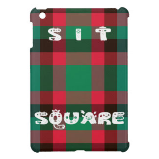 Sit Square Case For The iPad Mini