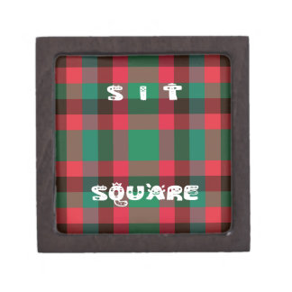 Sit Square Jewelry Box