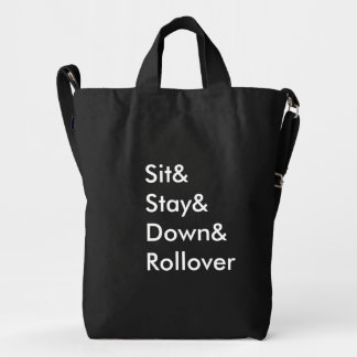 Sit& Stay& Down& Rollover Bag
