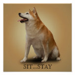 SIT...STAY POSTER
