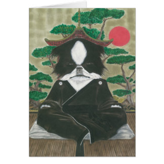 Sit. Stay. Quiet. Greeting Card