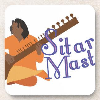 Sitar Master Coaster