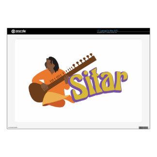 Sitar Music Laptop Skin