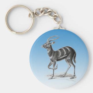 Sitatunga or Marshbuck Keychain