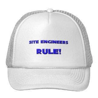 Site Engineers Rule! Trucker Hat