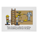 Site Housekeeping 001 Posters