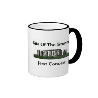 Site Of The Stones' First Concert Ringer Coffee Mug